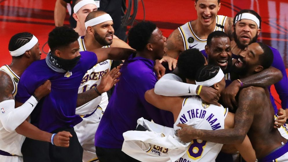 Jubel um LeBron: Die Lakers sind wieder Meister - Bildquelle: GETTY IMAGES NORTH AMERICAGETTY IMAGES NORTH AMERICASIDMike Ehrmann