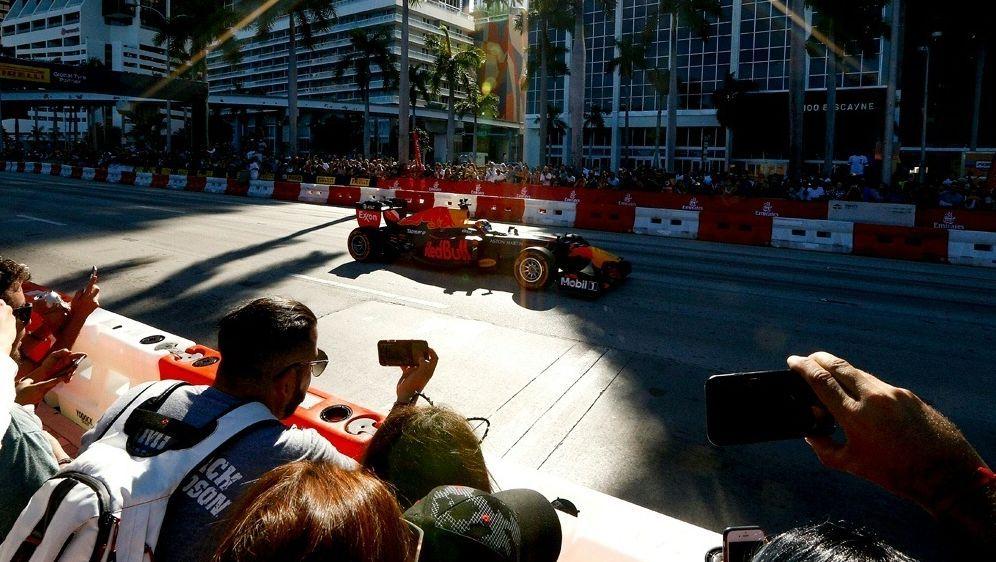 Formel 1: Ein WM-Lauf in Miami wird wahrscheinlicher - Bildquelle: AFPGETTY SIDMichael Reaves
