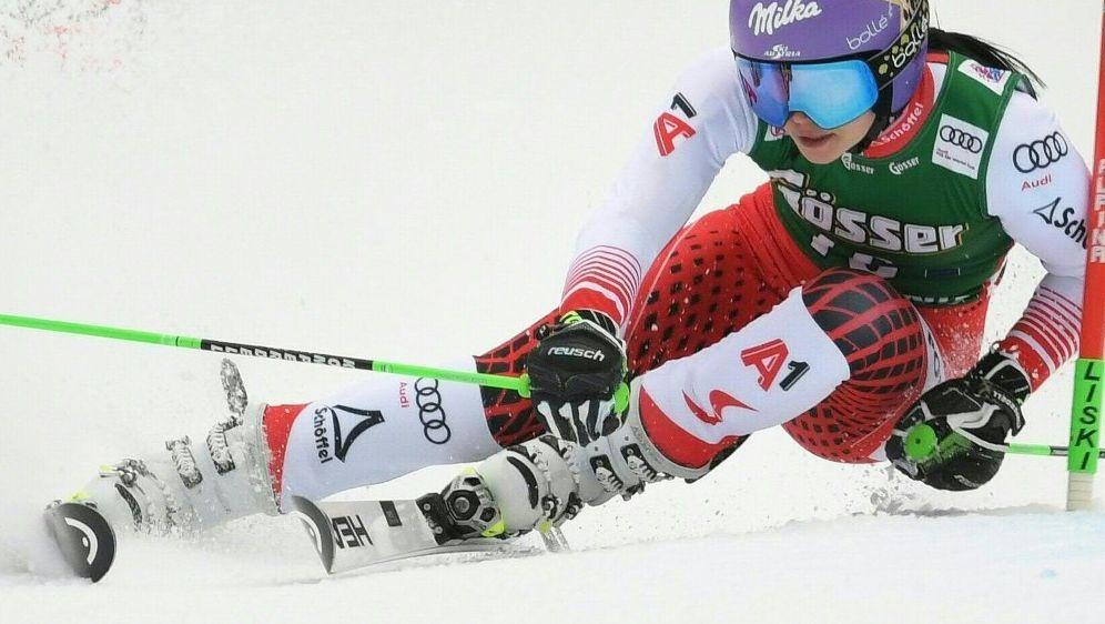 Anna Veith erleidet Kreuzbandriss in Südtirol - Bildquelle: AFPSIDROLAND SCHLAGER