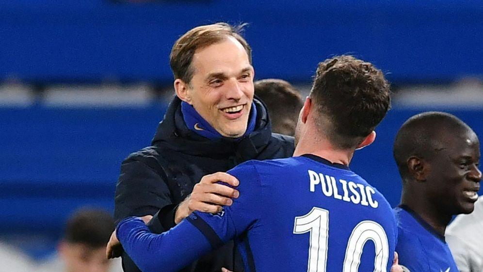 FA-Cup: Thomas Tuchel zieht mit Chelsea ins Finale ein - Bildquelle: AFPSIDBEN STANSALL