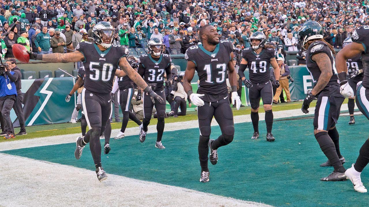 NFC: 4. Philadelphia Eagles (aktuell 5-4) - Bildquelle: 2019 Getty Images