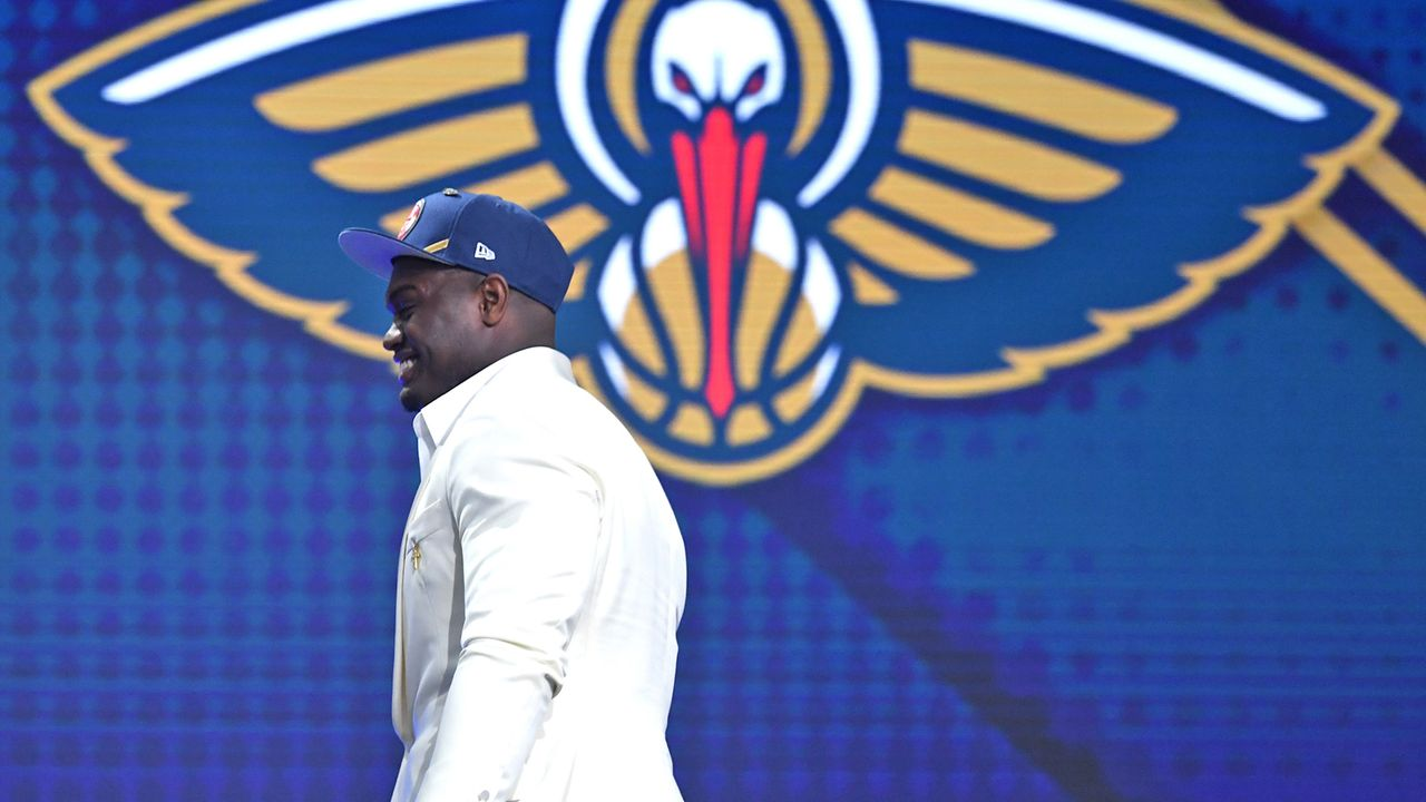 Pick 1: Zion Williamson - New Orleans Pelicans - Bildquelle: 2019 Getty Images
