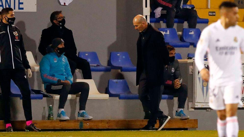 Zinedine Zidane hat wohl keine Zukunft mehr bei Real Madrid. - Bildquelle: imago images/Marca