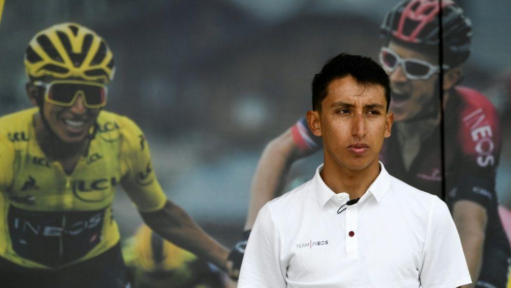 Egan Bernal fährt bei der Rad-WM nicht - Bildquelle: AFPSIDJUAN BARRETO