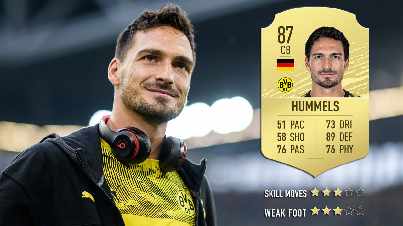 Mats Hummels (Borussia Dortmund) - Bildquelle: imago images / Jörg Schüler