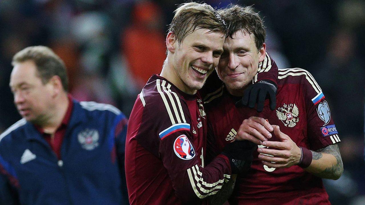 Alexander Kokorin (l.) und Pawel Mamajew (Körperverletzung) - Bildquelle: imago/ITAR-TASS