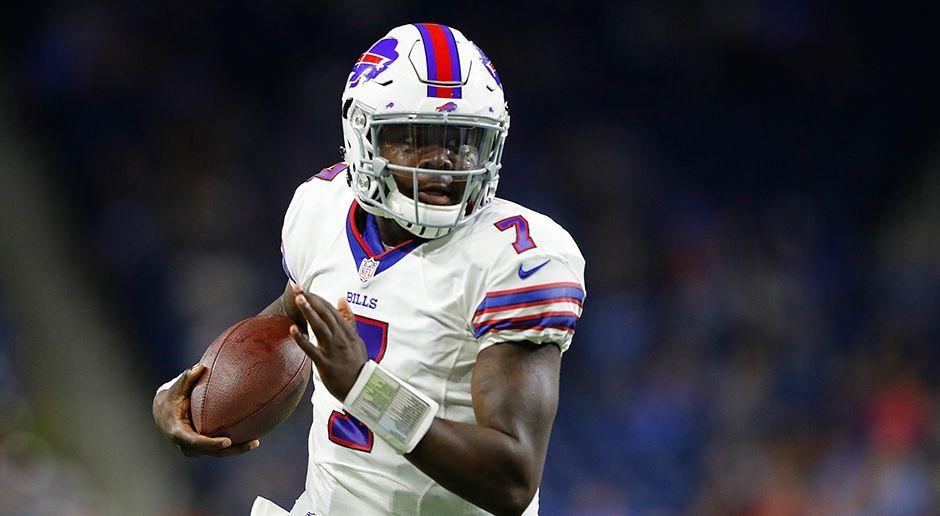 Platz 9: Buffalo Bills - Cardale Jones/ T.J. Yates - Bildquelle: 2016 Getty Images
