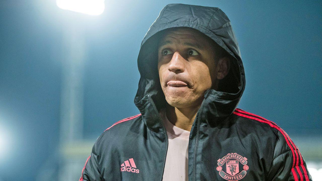 Alexis Sanchez (Manchester United) - Bildquelle: imago