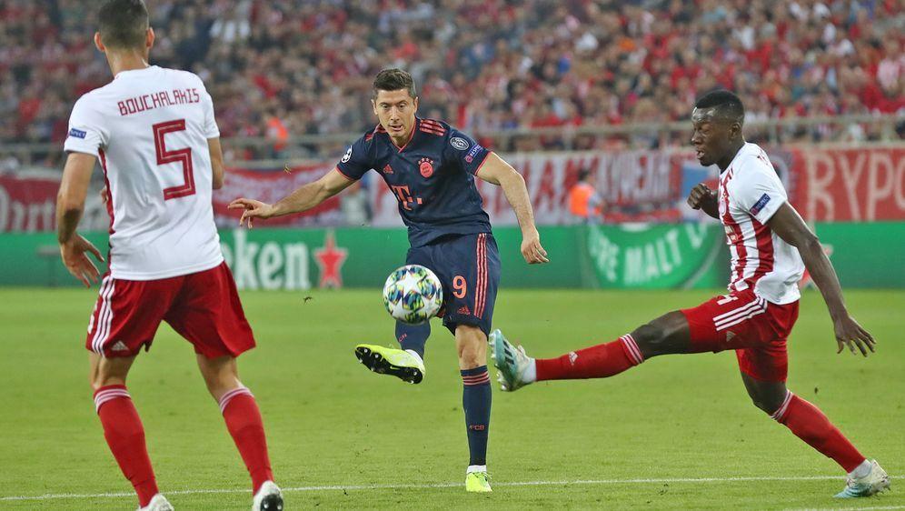 Der FC Bayern gewinnt auch sein drittes Champions League-Spiel in dieser Sai... - Bildquelle: getty