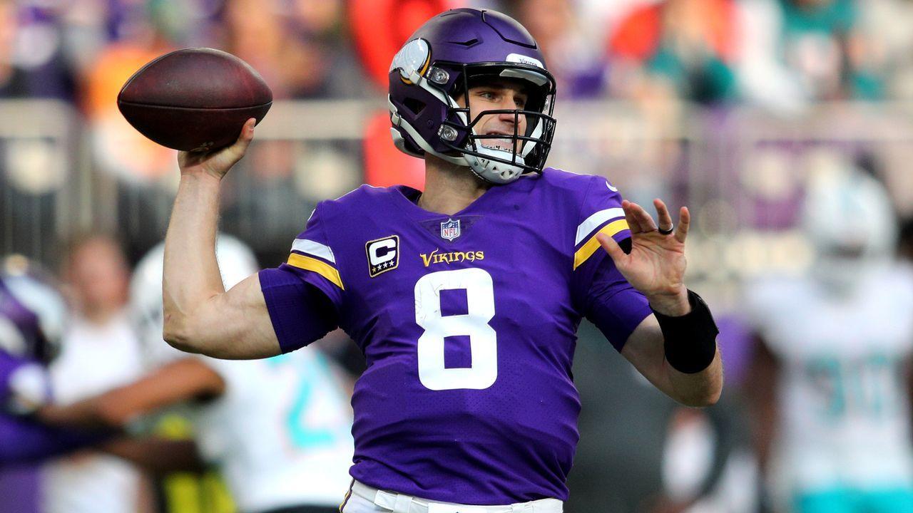 Platz 10 (geteilt) - Minnesota Vikings - Bildquelle: 2018 Getty Images
