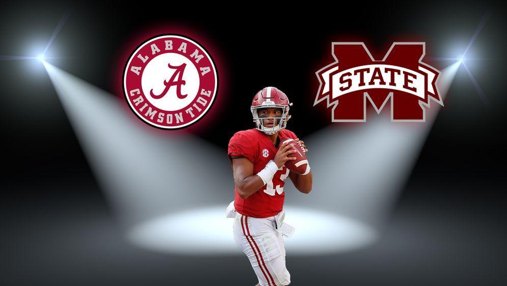 Steht im Rampenlicht: Alabama Quarterback Tua Tagovailoa - Bildquelle: Getty Images