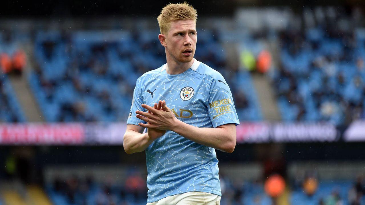 Mittelfeld: Kevin de Bruyne (Manchester City) - Bildquelle: imago images/PA Images