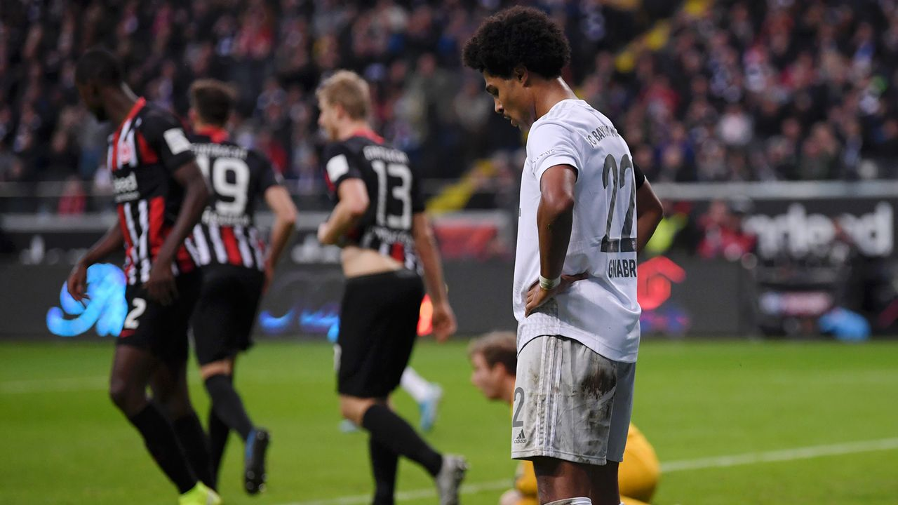 Eintracht Frankfurt - FC Bayern München 5:1 (2019/20) - Bildquelle: 2019 Getty Images