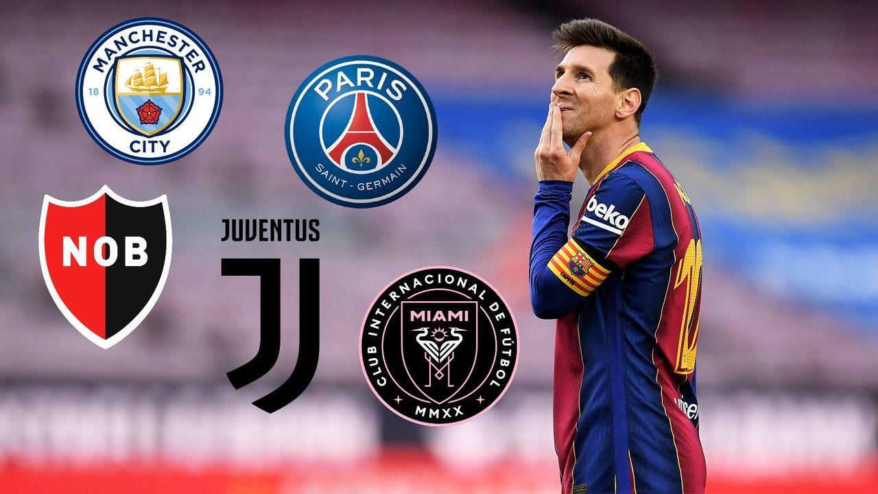 Messi-Hammer bei Barcelona: Wohin zieht es den Superstar?  - Bildquelle: getty