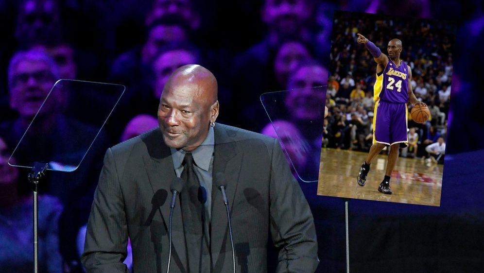 Michael Jordan hat den letzten Textverlauf mit Kobe Bryant veröffentlicht. - Bildquelle: Getty