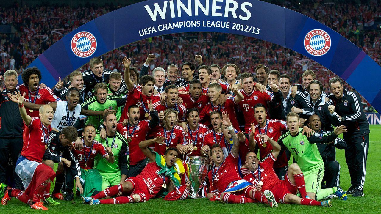 FC Bayern München (2012/13) - Bildquelle: Imago Images