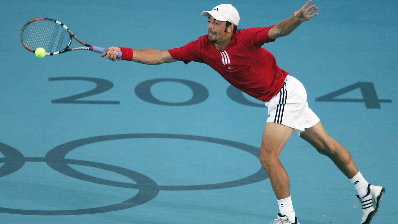 Olympia 2004: Nicolas Massu - Bildquelle: 2004 Getty Images