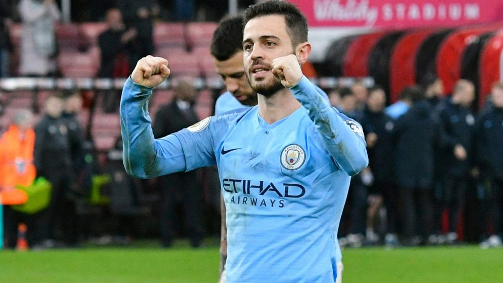 Bernardo Silva schoss Manchester City in Führung - Bildquelle: FIROFIROSID