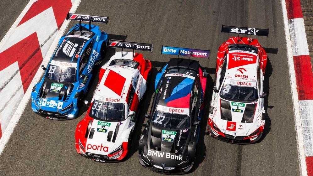 Die DTM-Saison startet am 1. August. - Bildquelle: imago images/HochZwei