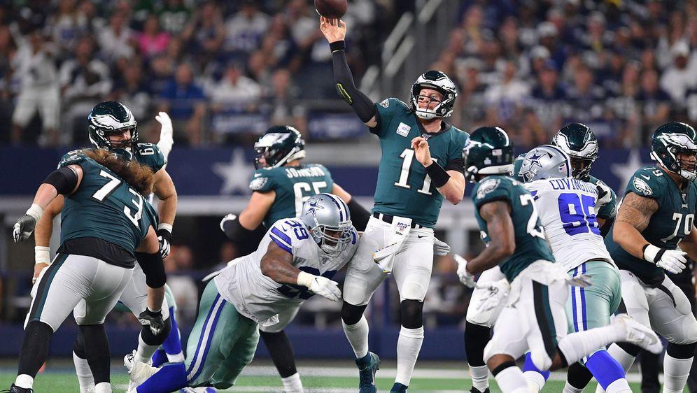 Dallas Cowboys und Philadelphia Eagles - oder doch die Washington Redskins? - Bildquelle: imago images/ZUMA Press