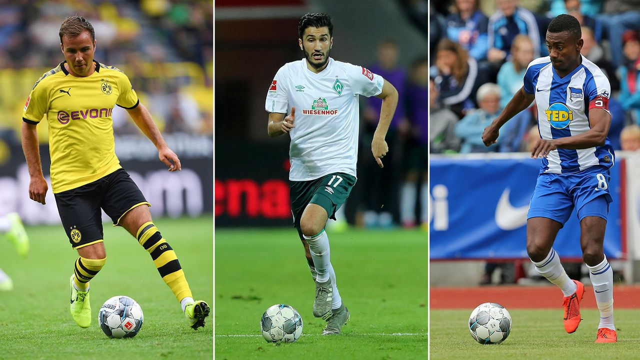 Götze, Sahin und Co.: Die Verträge dieser Bundesliga-Stars laufen 2020 aus