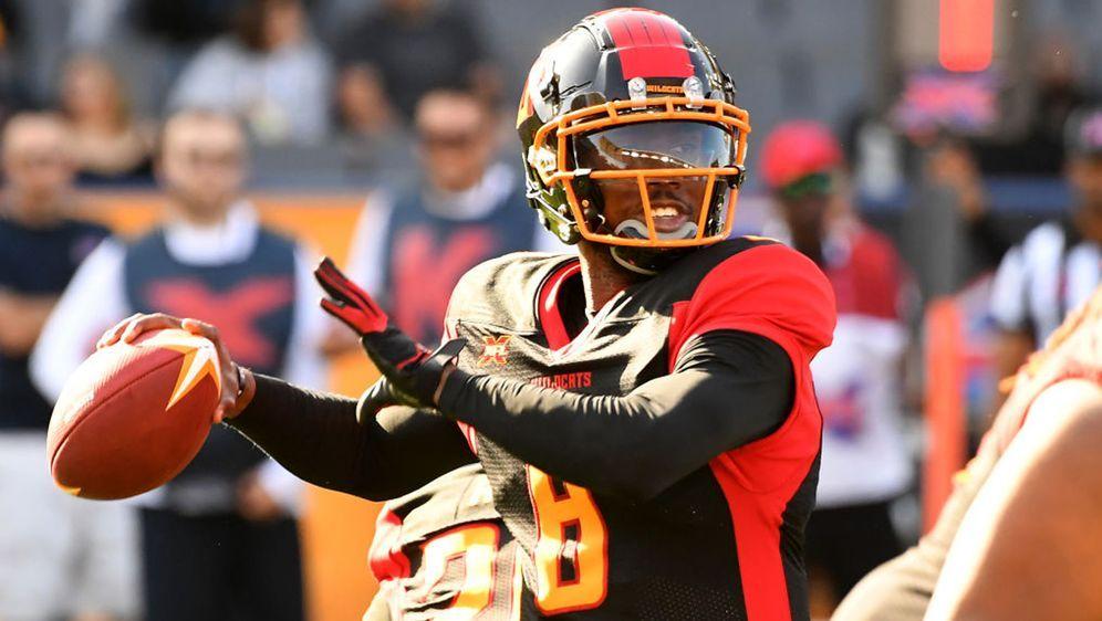 Josh Johnson von den Los Angeles Wildcats in der XFL hat fast für die Hälfte... - Bildquelle: 2020 Getty Images
