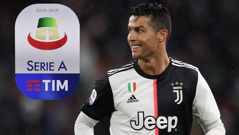 Internationale Fußball-Stars wie Cristiano Ronaldo haben in Italien gut lach... - Bildquelle: imago images / Sportimage
