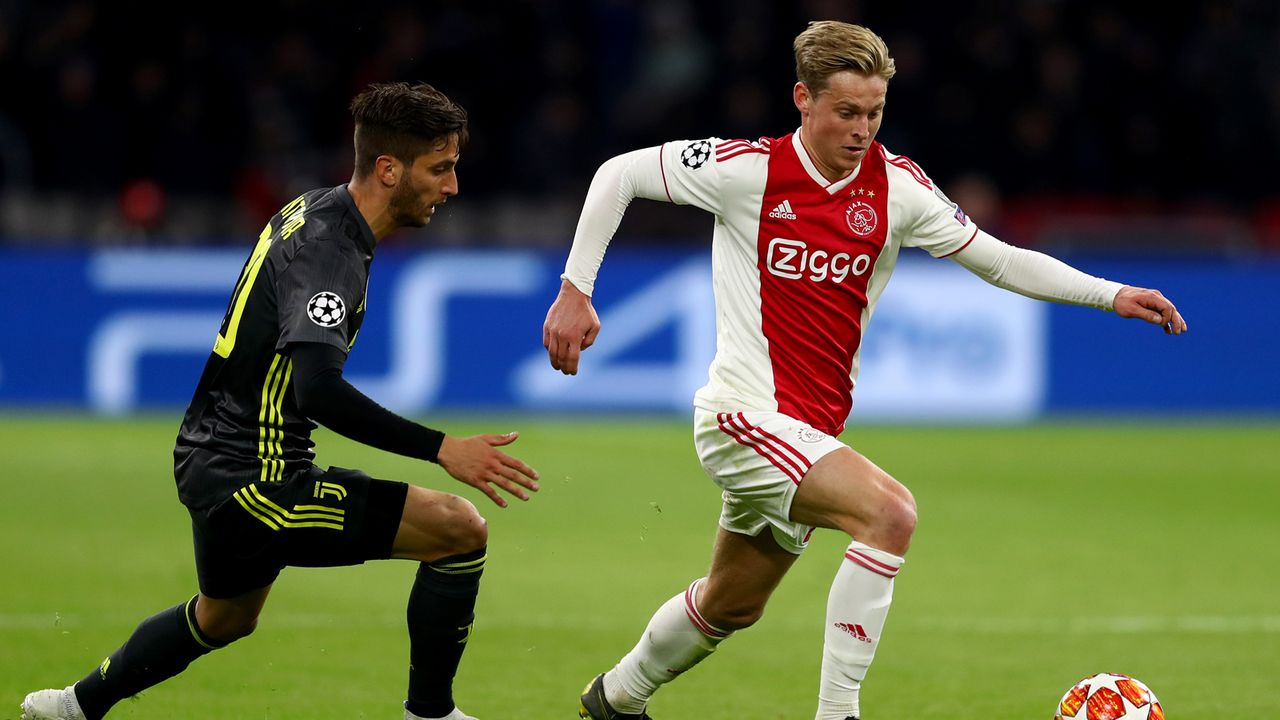 Platz 3: Ajax Amsterdam - Bildquelle: 2019 Getty Images