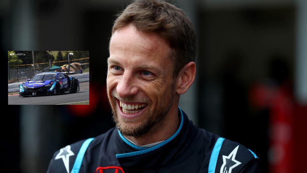Jenson Button freut sich auf den Gaststart. - Bildquelle: 2018 Getty Images