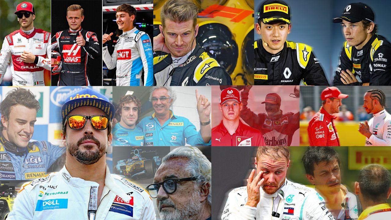 Die aktuellen Fahrer-Gerüchte in der Formel 1 - Bildquelle: Getty