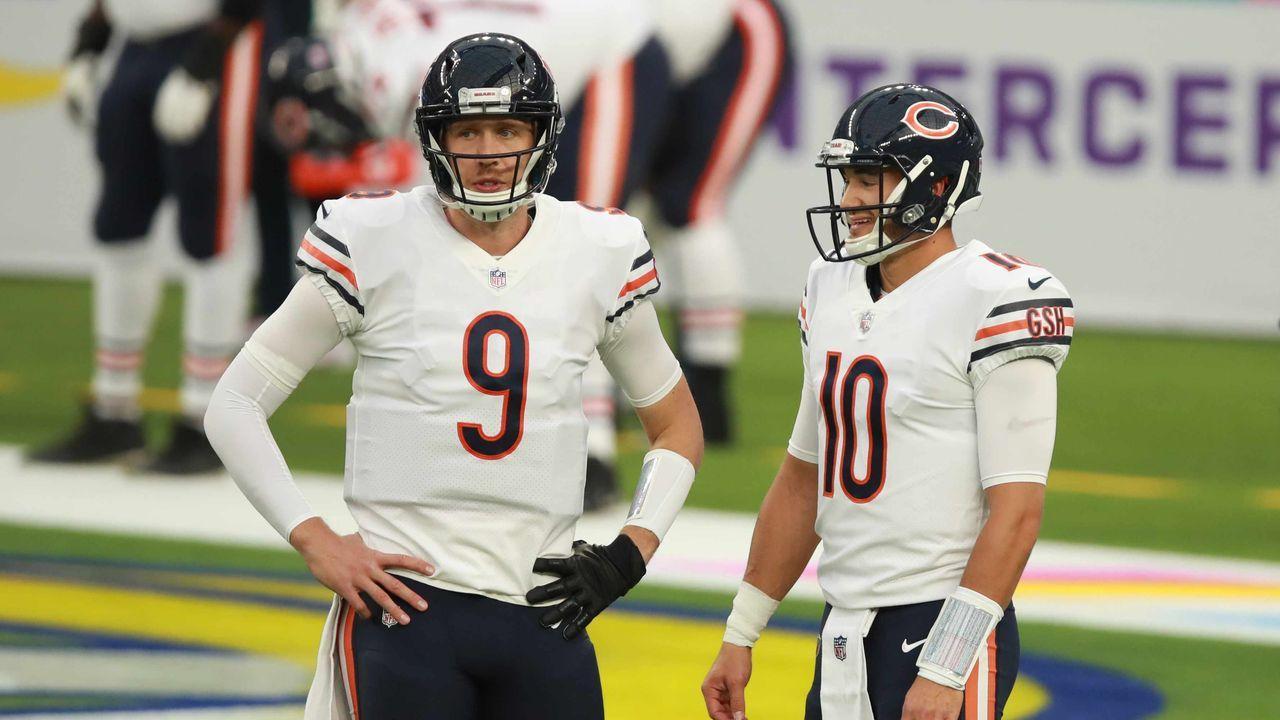 Nick Foles und Mitch Trubisky (beide Chicago Bears)  - Bildquelle: getty