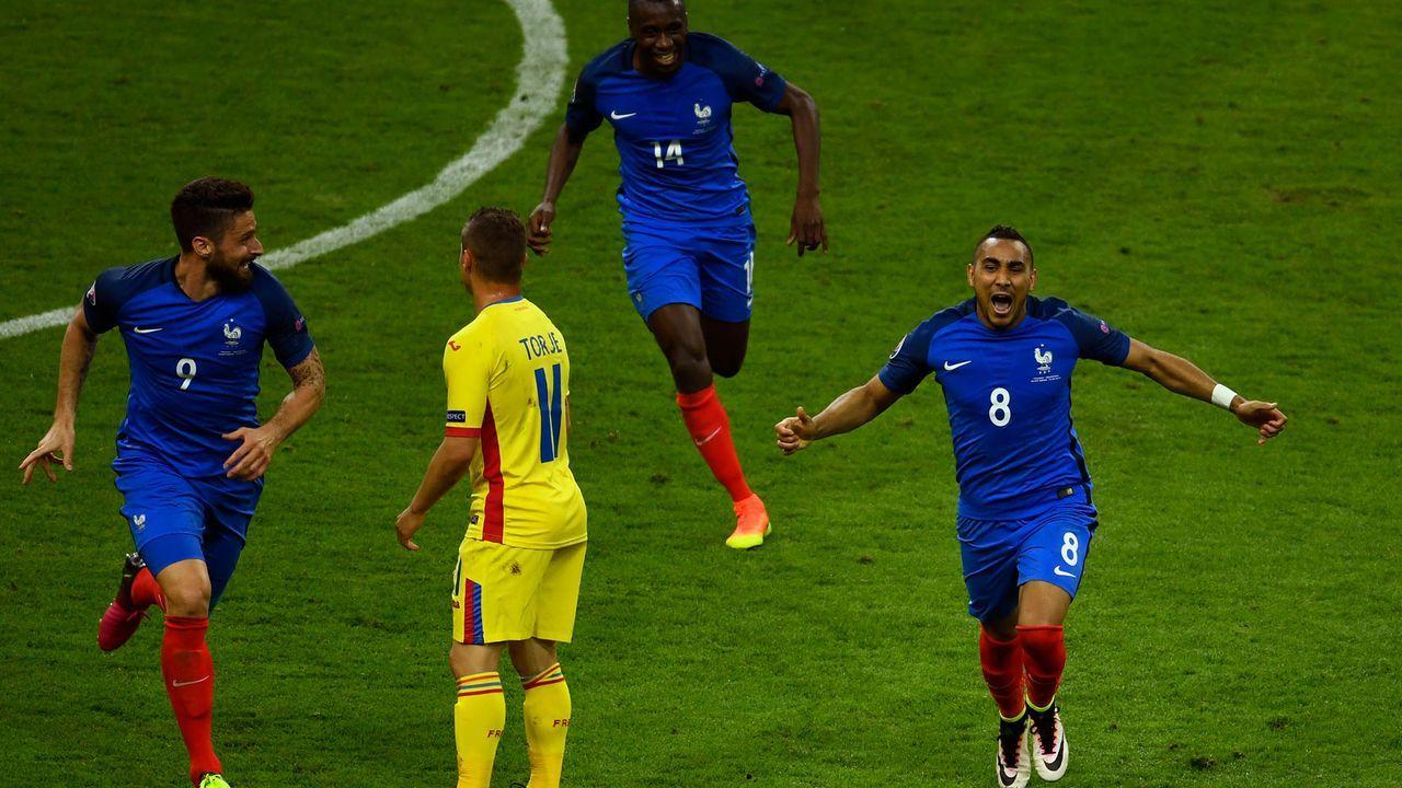 EM 2016: Frankreich - Rumänien 2:1 - Bildquelle: Getty Images
