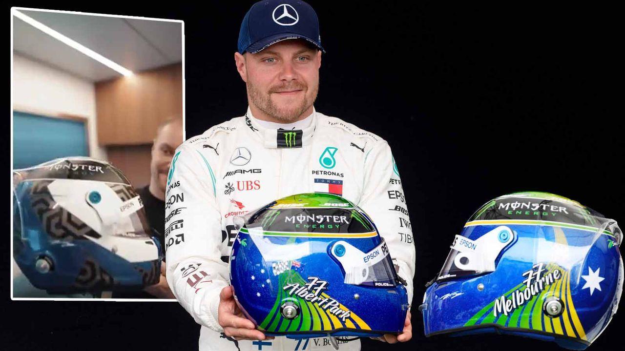 Valtteri Bottas (Mercedes-AMG F1) - Bildquelle: imago ; twitter/MercedesAMGF1