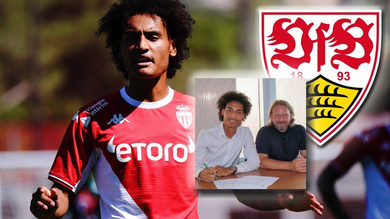 Enzo Millot (VfB Stuttgart) - Bildquelle: imago/instagram.com/vfb/