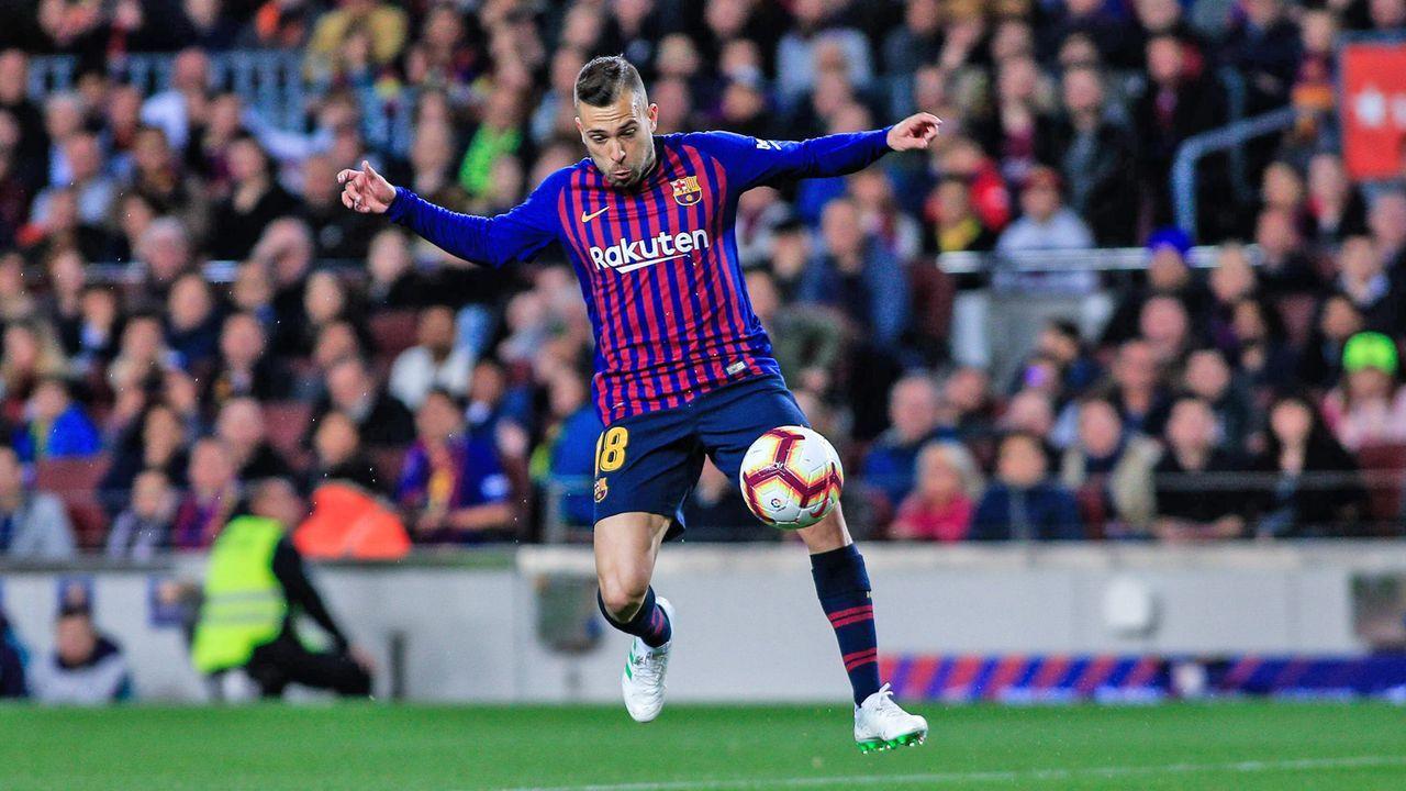 Jordi Alba (FC Barcelona) - Bildquelle: imago