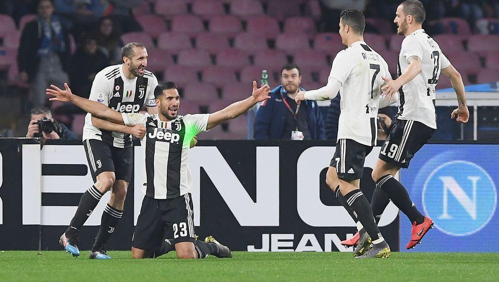 Can Treffer Und Doppelt Rot Spektakel Bei Juve Gegen Neapel