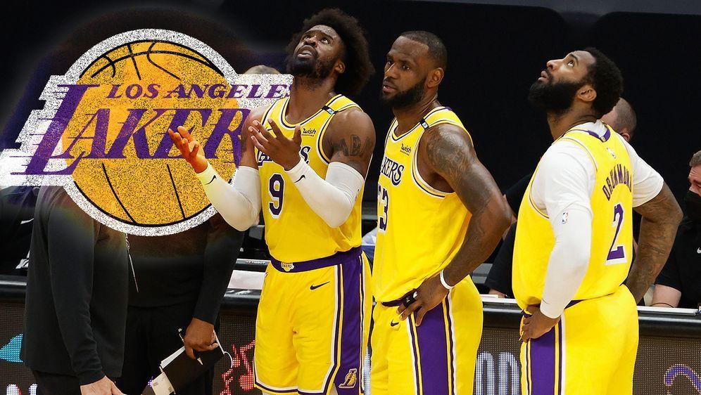 Enttäuschung in der ersten Playoff-Runde: Die Los Angeles Lakers sind ausges... - Bildquelle: Getty Images/Los Angeles Lakers