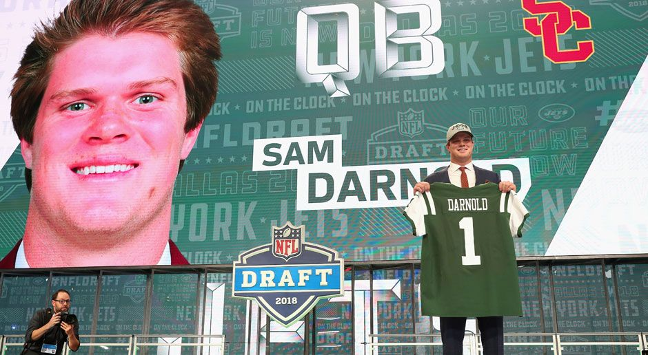 3. Sam Darnold (Quarterback, New York Jets)  - Bildquelle: 2018 Getty Images