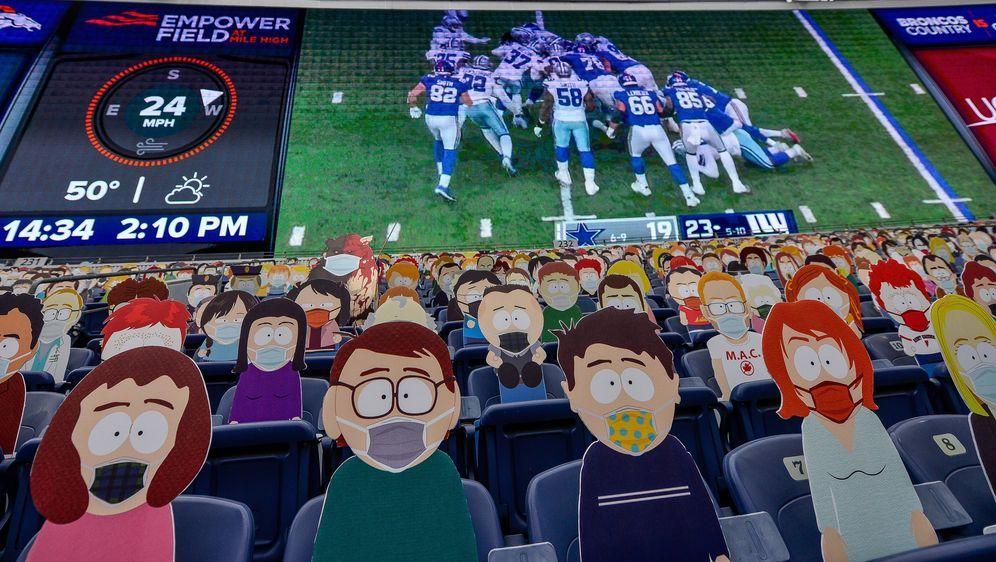 Keine Zuschauer in NFL-Stadien: auch das dürfte geholfen haben, die Corona-F... - Bildquelle: imago images/Icon SMI