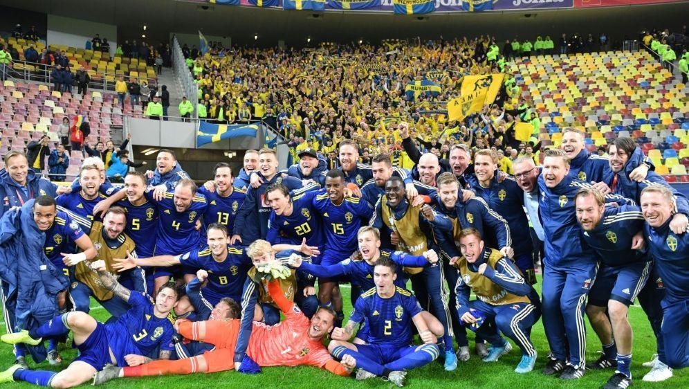 Schweden qualifiziert sich für die EURO 2020 - Bildquelle: AFPAFPDaniel MIHAILESCU