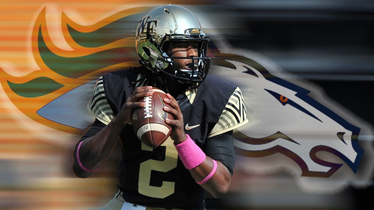 Denver Broncos: Das ist Notfall-Quarterback Kendall Hinton - Bildquelle: Imago