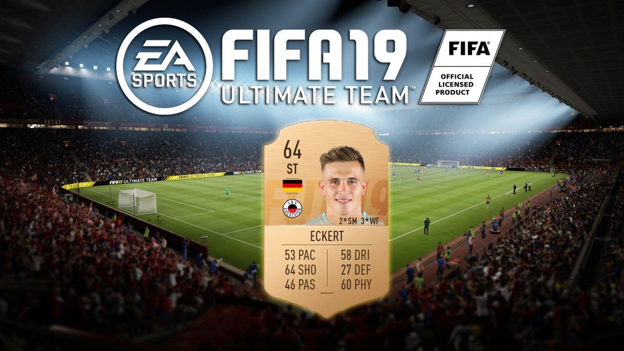 Platz 1: Dennis Eckert (Excelsior) - Bildquelle: EA Sports