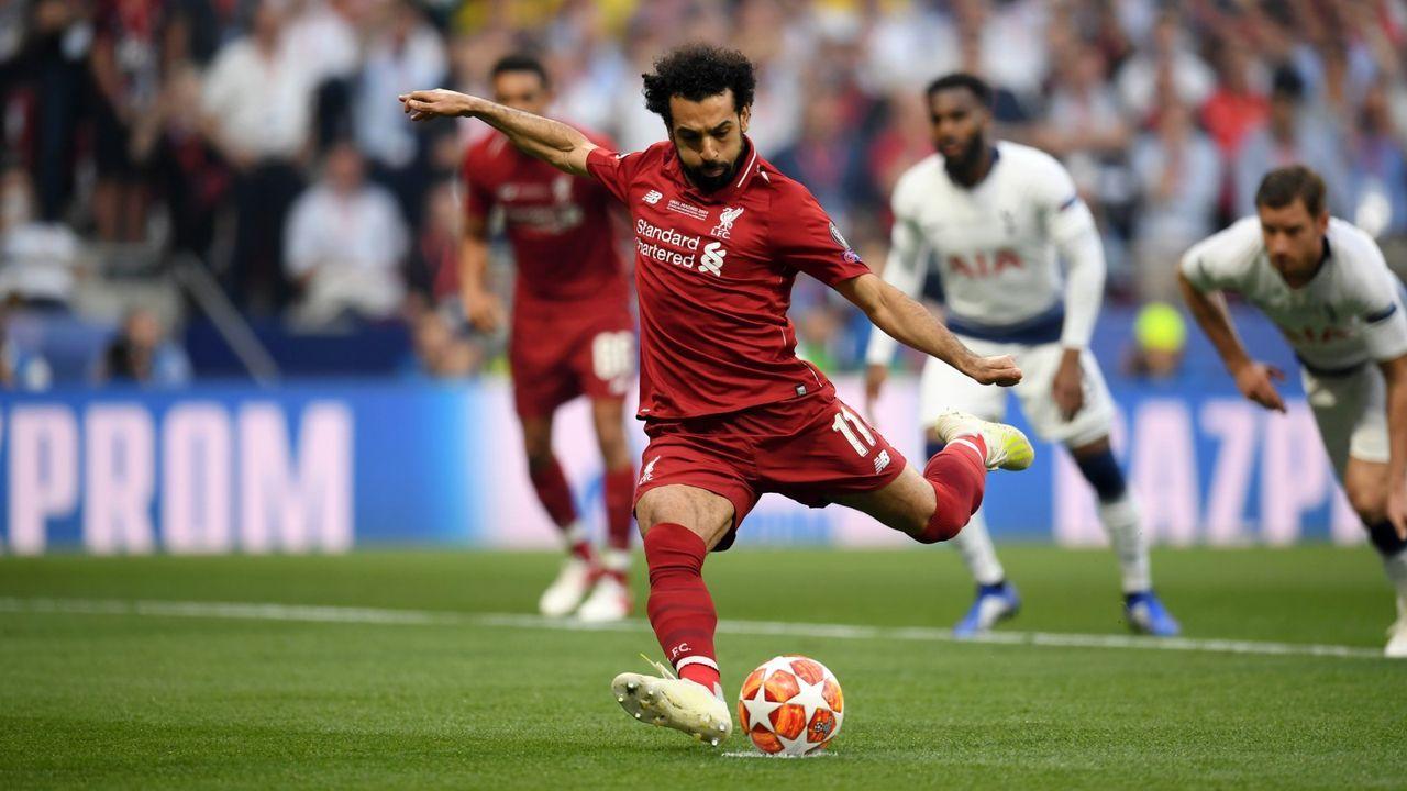 4. Mohamed Salah (FC Liverpool) - Bildquelle: 2019 Getty Images