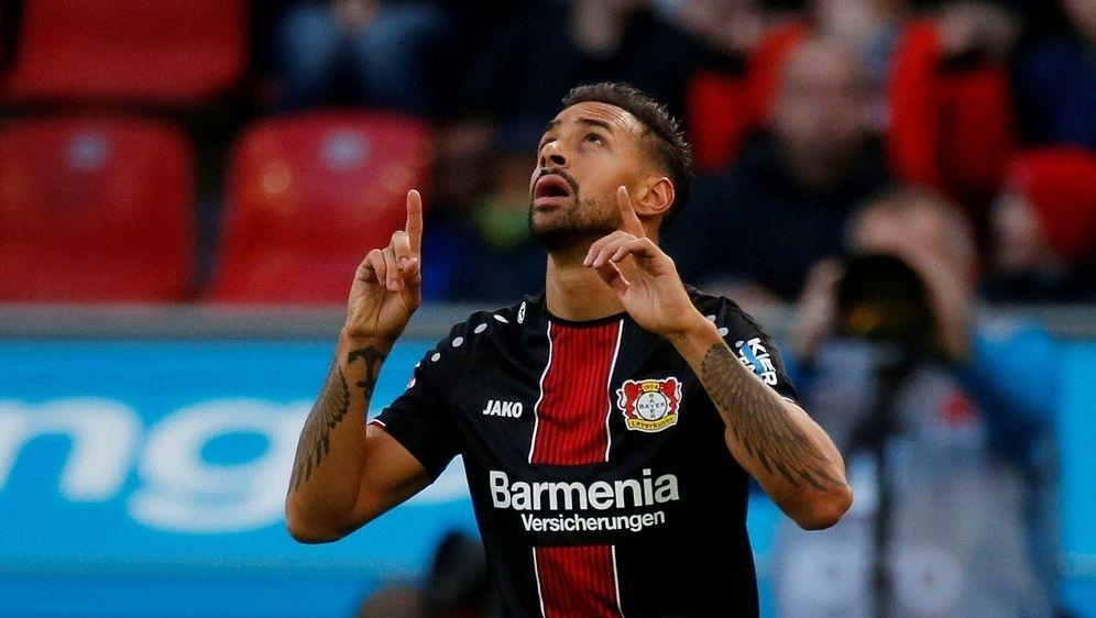 Karim Bellarabi sichert Leverkusen den späten Dreier - Bildquelle: PIXATHLONPIXATHLONSID