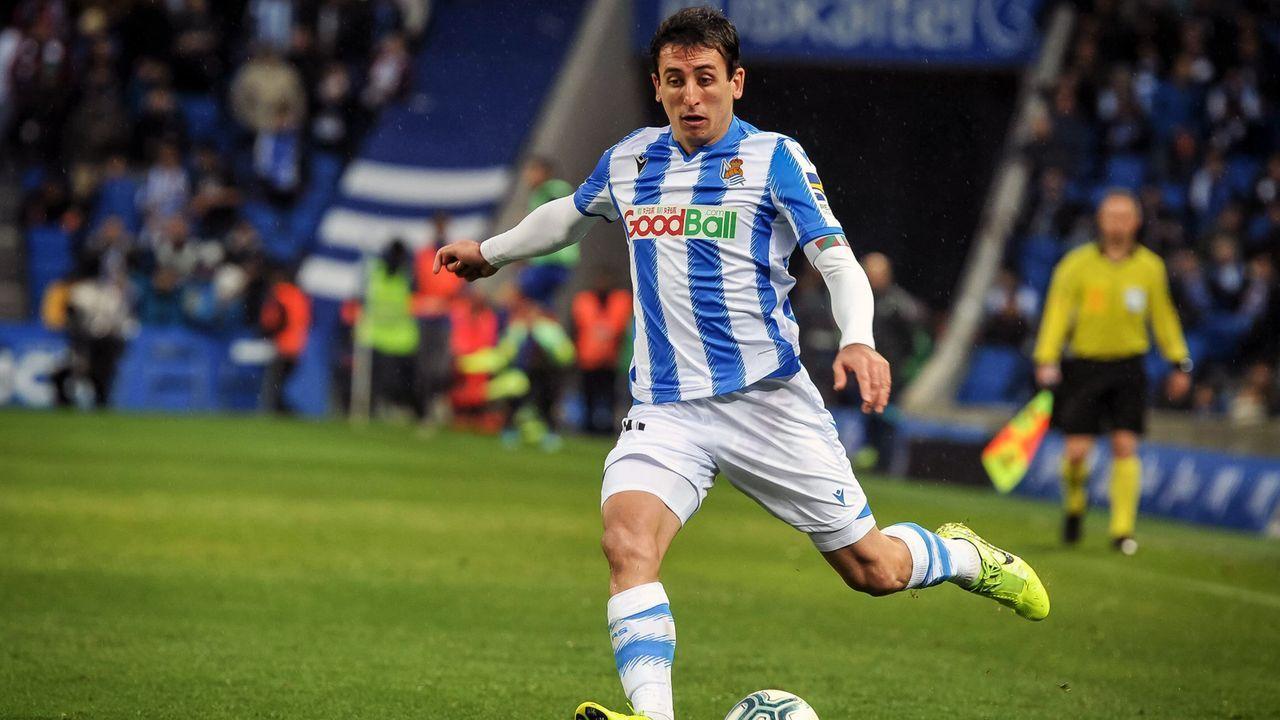 Platz 24 - Mikel Oyarzabal (Real Sociedad San Sebastian) - Bildquelle: imago images/Cordon Press/Miguelez Sports