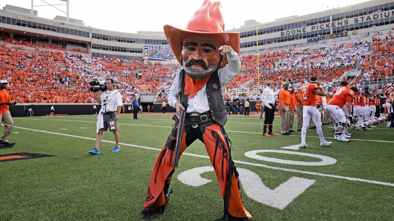 "Oklahoma State Cowboys - ""Pistol Pete"" - Bildquelle: Getty Images"