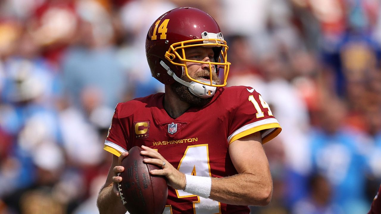 Ryan Fitzpatrick (Washington Football Team) - Bildquelle: 2021 Getty Images