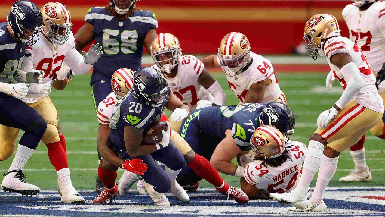 9. Platz: Seattle Seahawks - 57,1 Prozent Erfolgsquote - Bildquelle: getty
