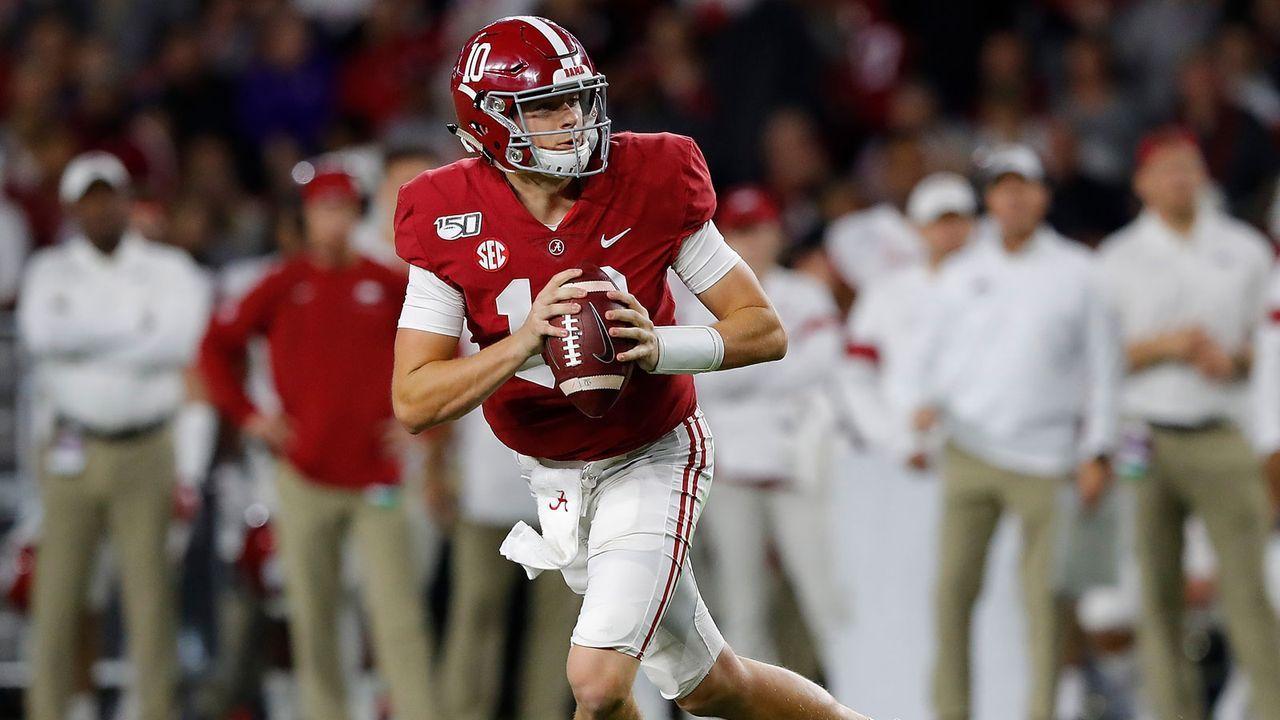 #1 Alabama Crimson Tide (7-0) - Bildquelle: 2019 Getty Images