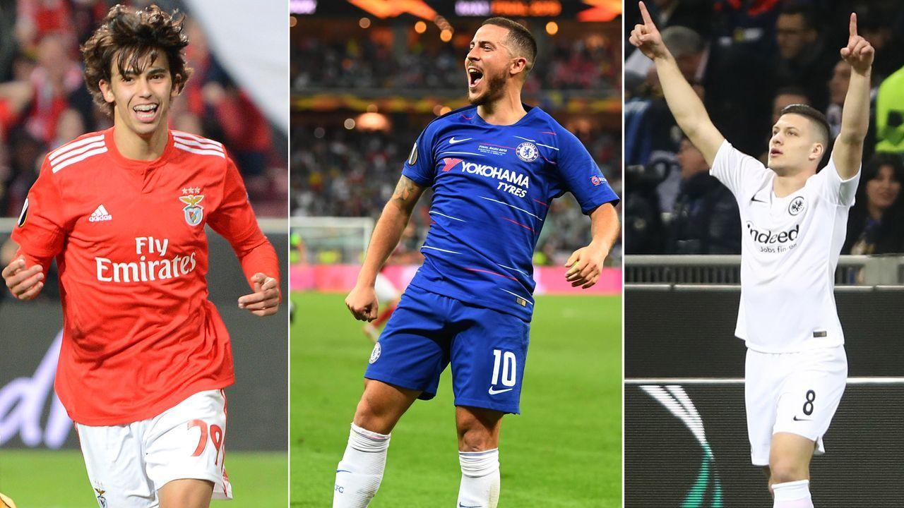 Europa League: Fünf Frankfurter im Kader der Saison - Bildquelle: 2018 Getty Images